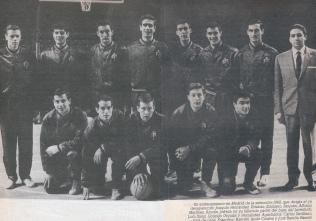 Josep Maria Jofresa Selección Española 1962