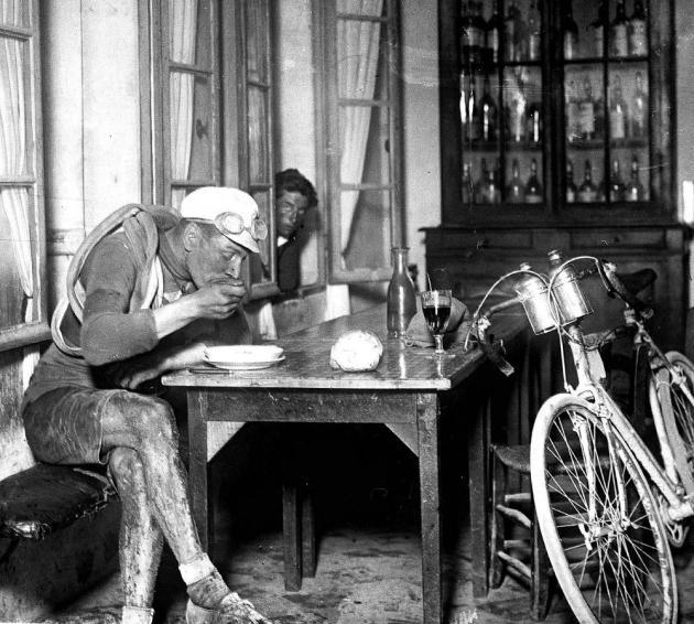 El francés Robert Jacquinot durante el Tour de Francia de 1922